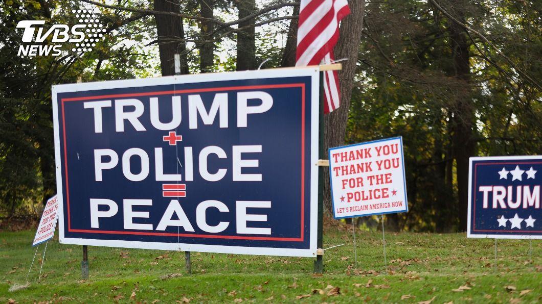 (圖/中央社) 俄亥俄看大選 川普支持者熱情擁戴、拜登選民立場堅定