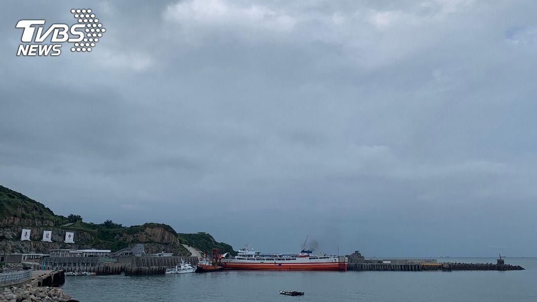 (圖/中央社) 馬祖船運載客數9月倍增 東北季風影響10月航班