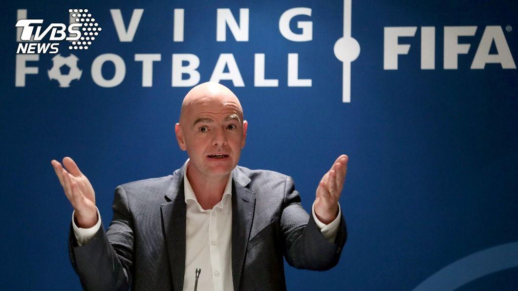 圖/達志影像路透社 快訊/FIFA主席確診 法國週四起恐再鎖國1個月