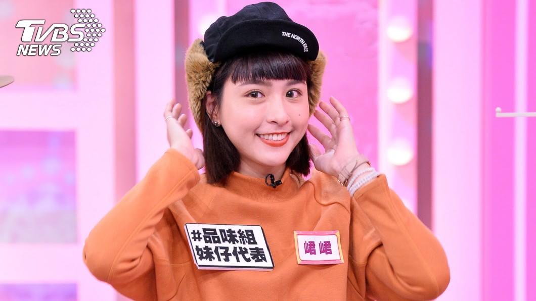峮峮上《女人我最大》。(圖/TVBS) 停工後首錄影談最愛 峮峮展笑顏近況曝光