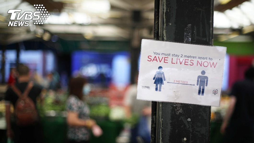 (圖/達志影像路透社) 歐洲入冬疫情大爆發 德擬祭輕封鎖、比利時加強防疫