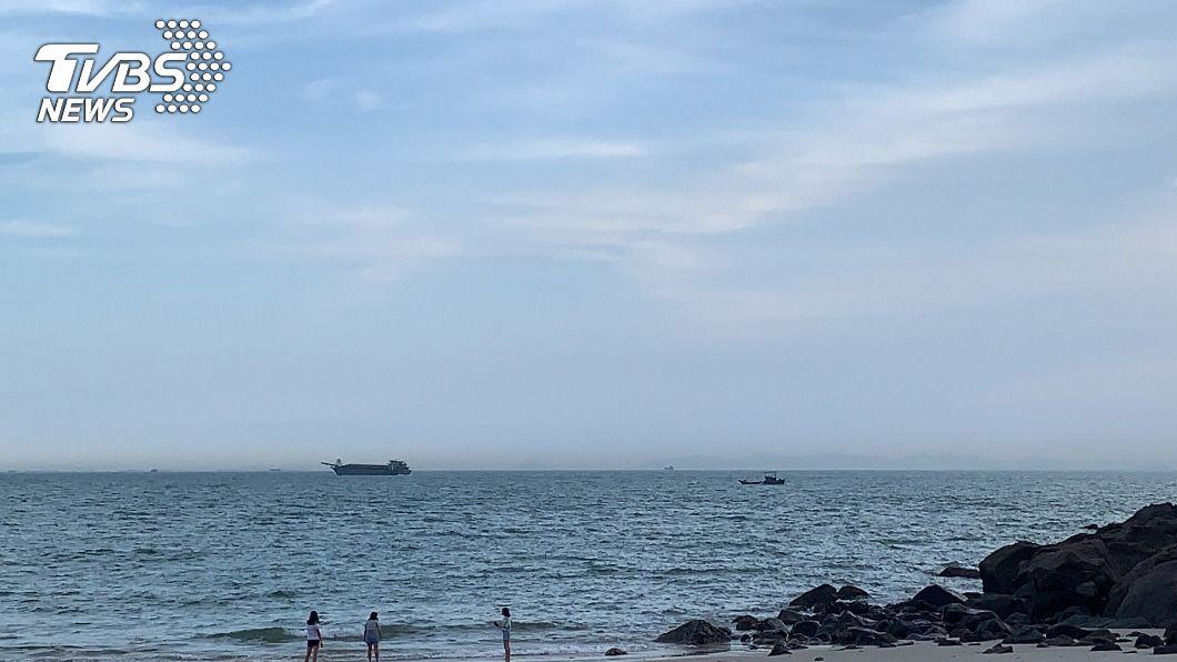 (圖/中央社) 陸船頻闖馬祖海域盜採砂石 海委會:發現就驅離
