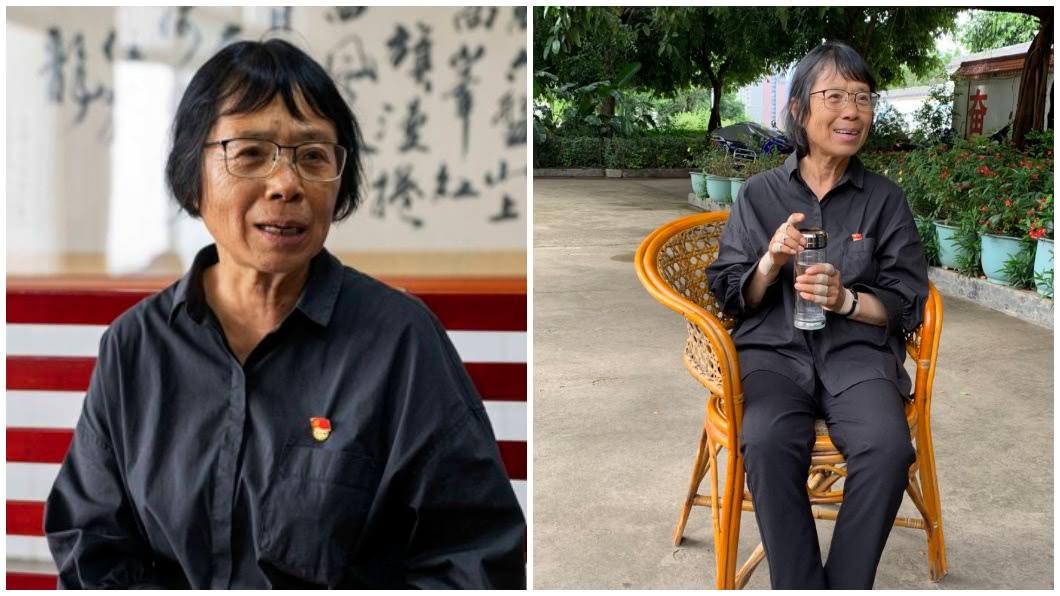 麗江華坪女子中學校長的張桂梅,她創立大陸第一所全免費公辦的女子高中。(圖/翻攝自上觀新聞) 校友想回饋捐款母校 女校長當面拒絕怒轟:滾出去