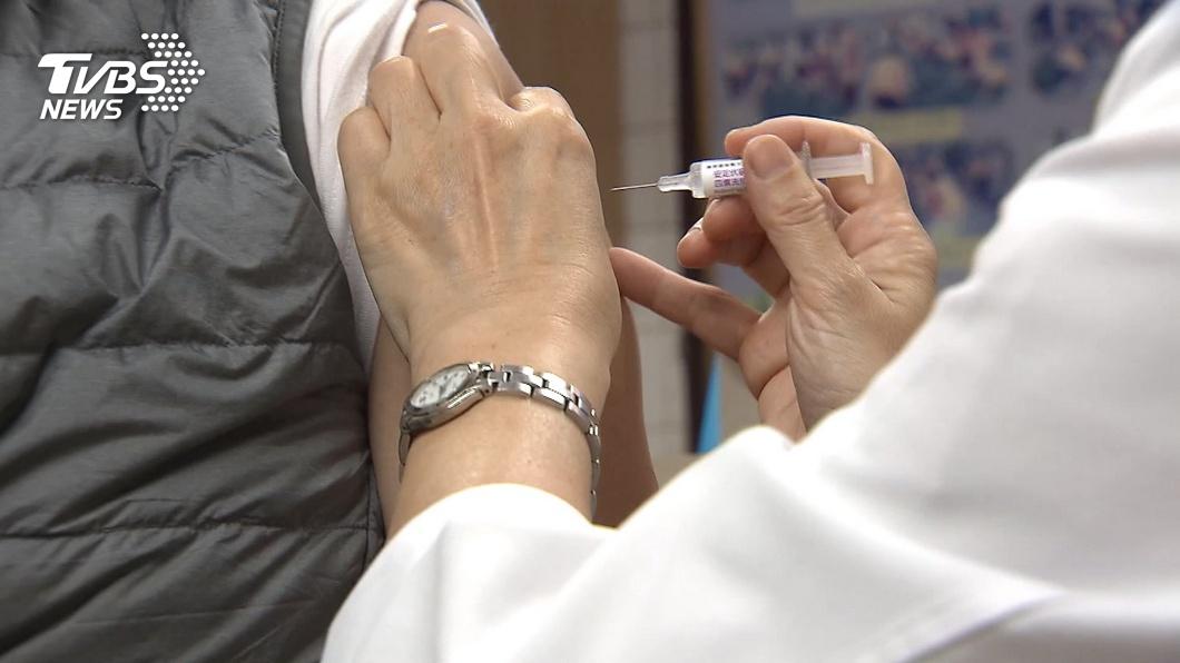 (圖/TVBS) 流感疫苗接種連2天破10萬劑 「打氣」未受影響