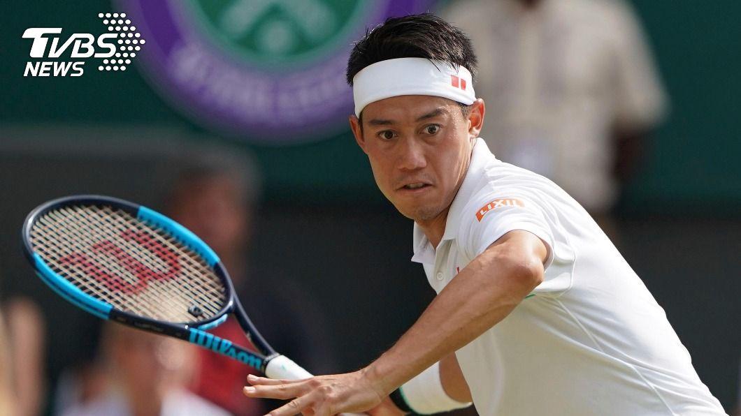 日本網球一哥錦織圭。(圖/達志影像美聯社) 日本網球一哥錦織圭肩傷未癒 宣布退出本季賽事