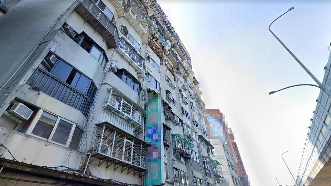事故屋出售地點。(圖/翻攝自Google Map) 穩租客5年慘成凶宅!萬華套房售358萬多人搶看