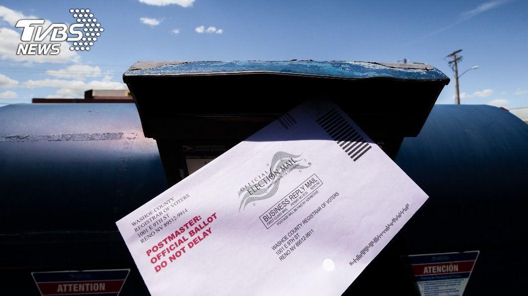 (示意圖/shutterstock 達志影像) 美國總統大選前 郵政管理局已寄送1.22億張選票