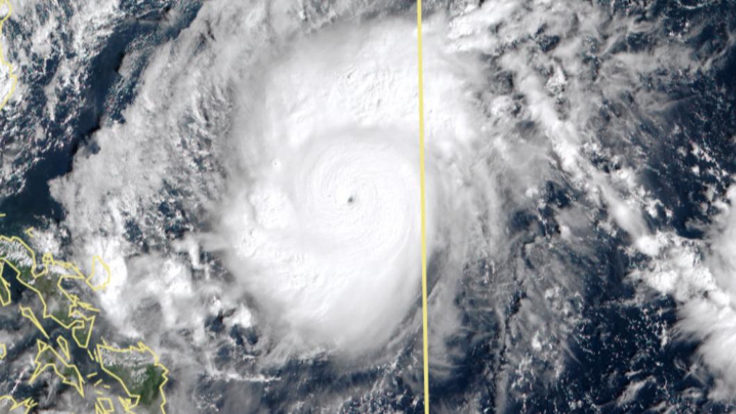 天鵝暴風長成今年最強颱!「綿密奶蓋」雲圖專家也驚豔