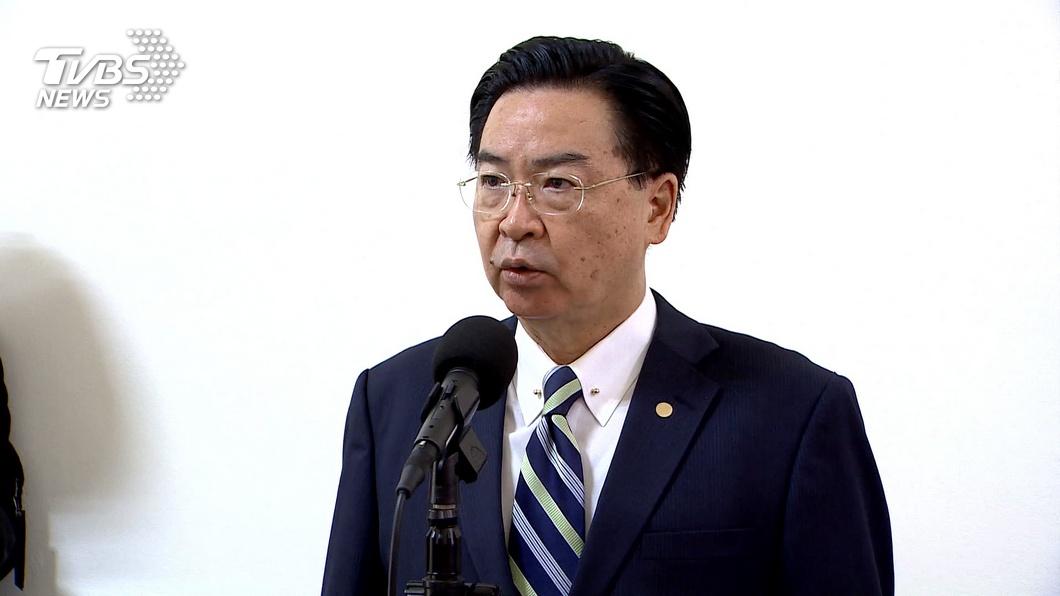外交部長吳釗燮。(圖/中央社) 全民盟贏得緬甸國會大選 吳釗燮盼持續深化關係