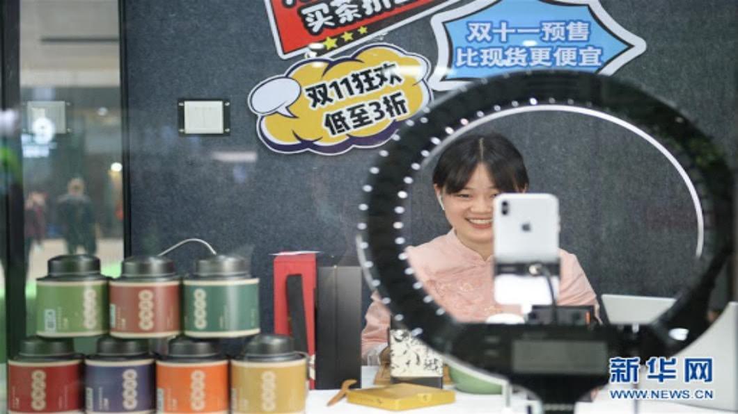 圖/翻攝自 新華網 雙11首輪開賣 陸高鐵「復興號」投入物流戰力