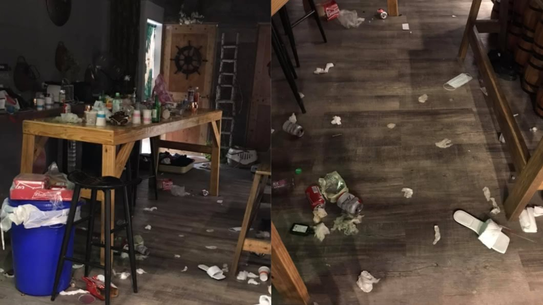業者分享民宿房內情況。(圖/翻攝自就是愛綠島臉書) 綠島民宿控遭破壞 網紅被負評灌爆反嗆:我們有整理