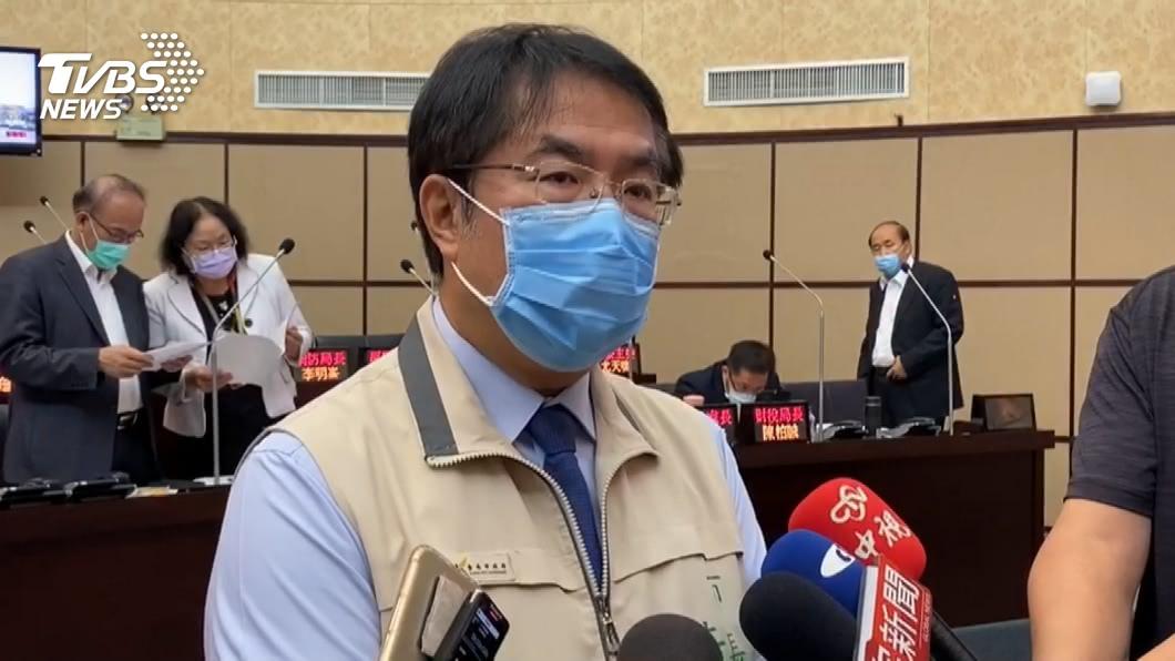 台南市長黃偉哲。(圖/TVBS) 黃偉哲核定1.2億 執行偏鄉點燈及治安監錄