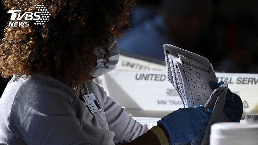 圖/達志影像路透社 美選「郵寄選票」惹議 川普要三州暫停計票