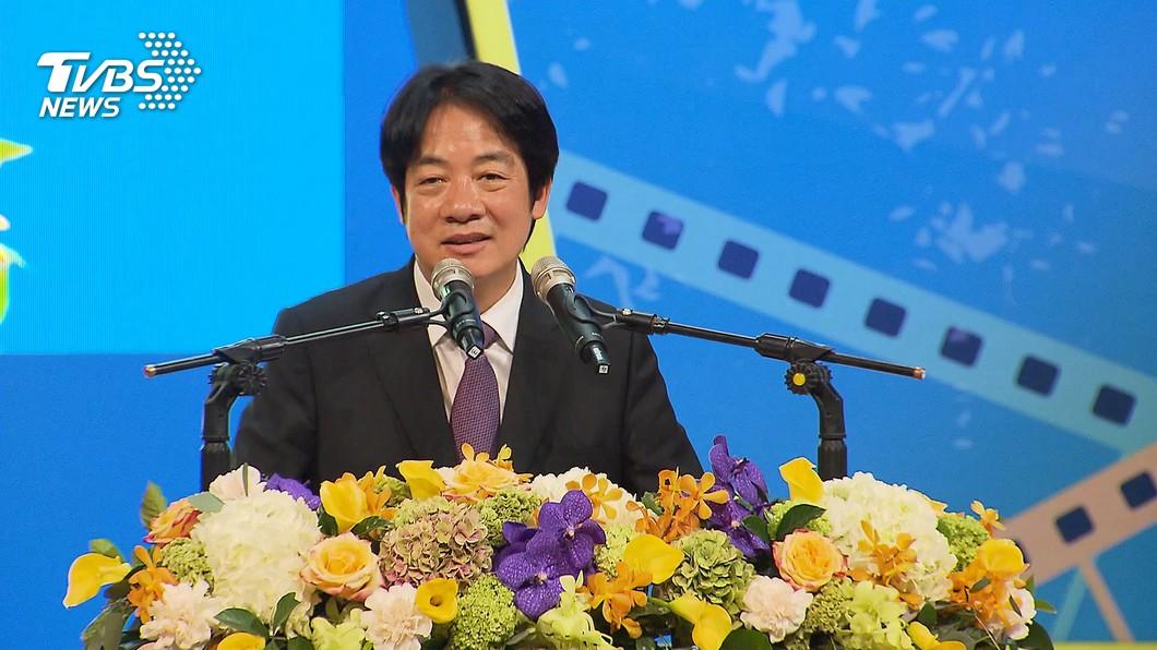 副總統賴清德。(圖/TVBS) 賴清德:民主保障性別平等 「她」經濟金融業女力崛起