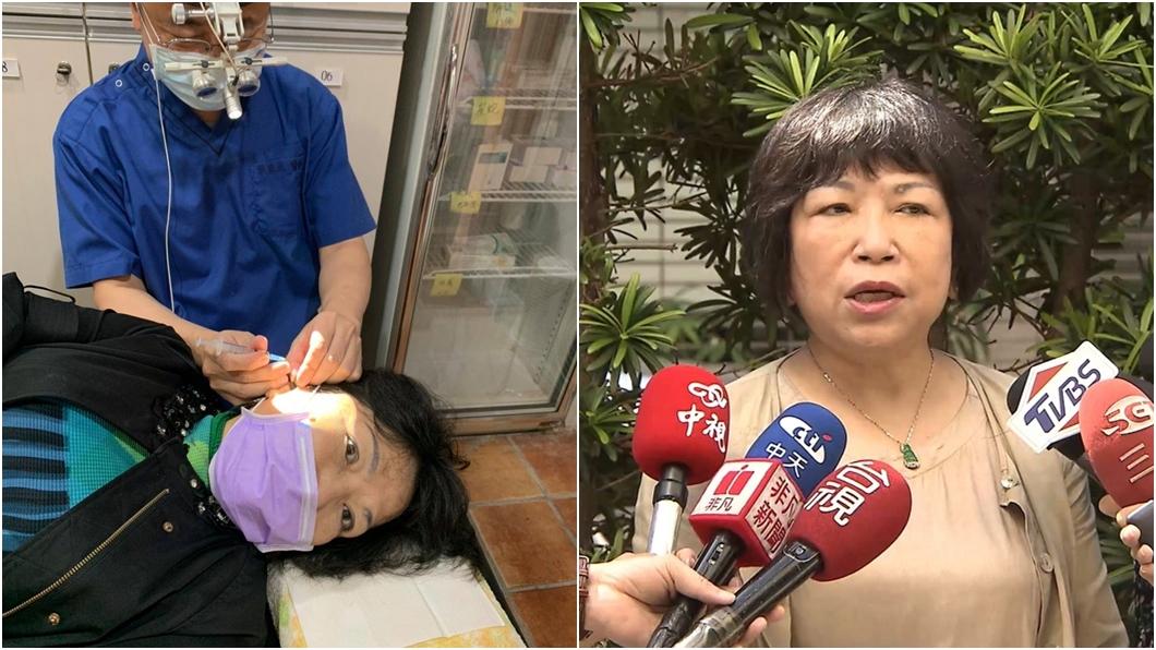 (圖/翻攝自葉毓蘭臉書、TVBS資料畫面) 爆右耳聽不見! 葉毓蘭「聽力惡化」急住院