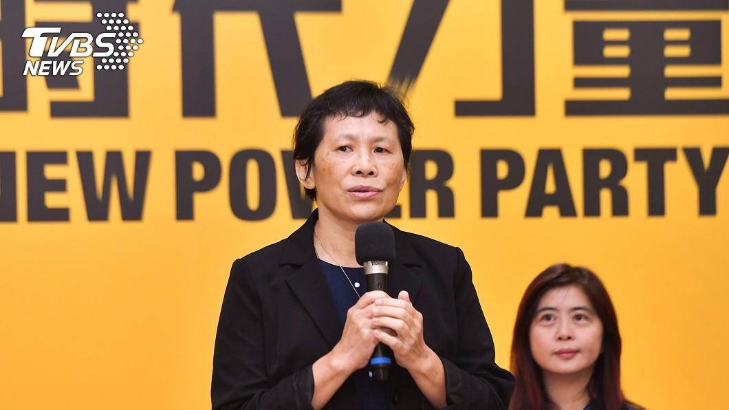 時代力量黨主席陳椒華將帶領時力迎戰2022地方選舉。(圖/中央社) 迎戰2022 時力搶進地方議會盼提名40人