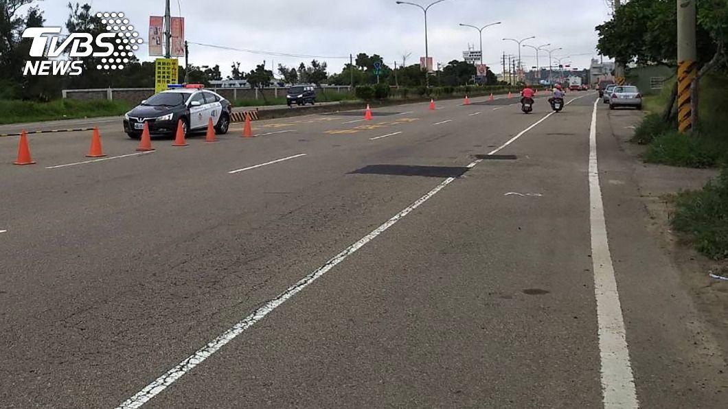 (示意圖,與新聞事件無關。圖/中央社) 車道邊線難判斷惹議 林佳龍:列專案檢討改善