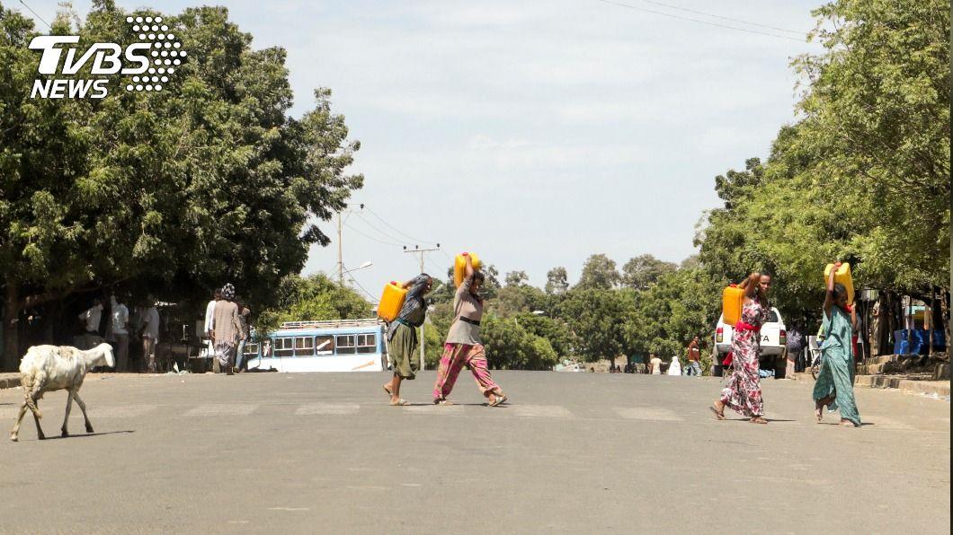 (圖/達志影像路透社) 衣索比亞北方軍事衝突 恐引發20萬難民逃亡潮