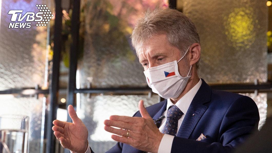 捷克參議院議長維特齊。(圖/中央社) 中共外圍組織試圖抹黑捷克參院議長 找錯對象反被曝光