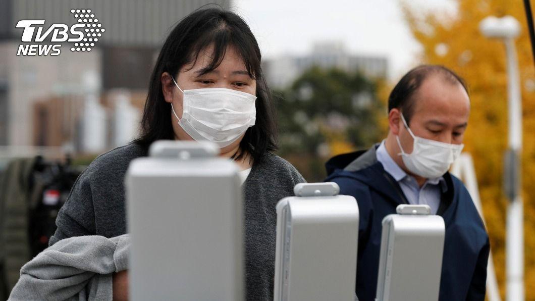 日本單日新增病例創新高。(圖/達志影像路透社) 日本單日新增病例創新高 暫未考慮公布緊急事態