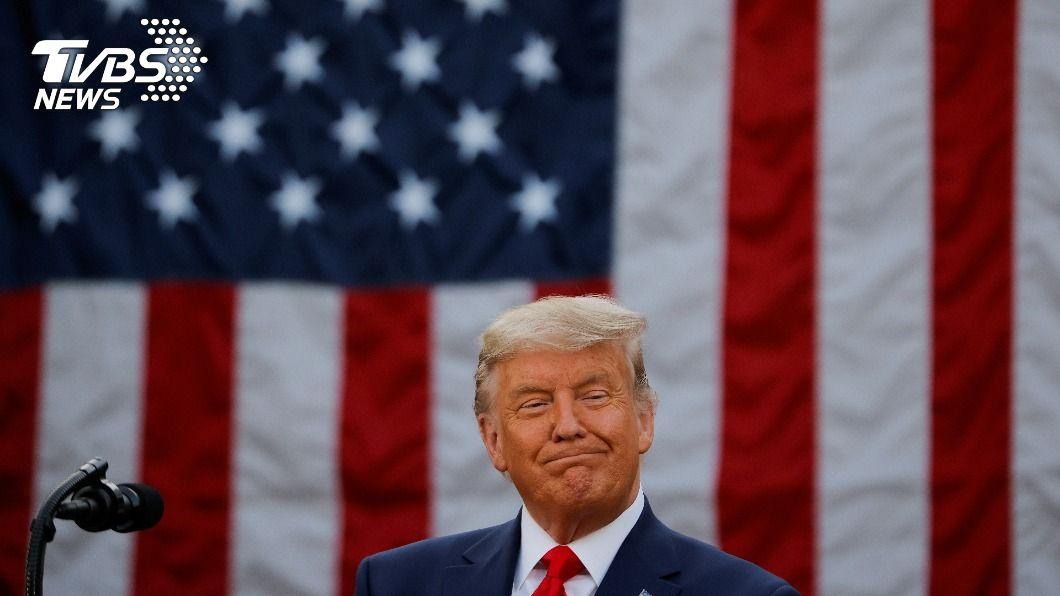 美國總統川普。(圖/達志影像路透社) 川普拒承認敗選 沉默一週首露面:時間會證明誰就任