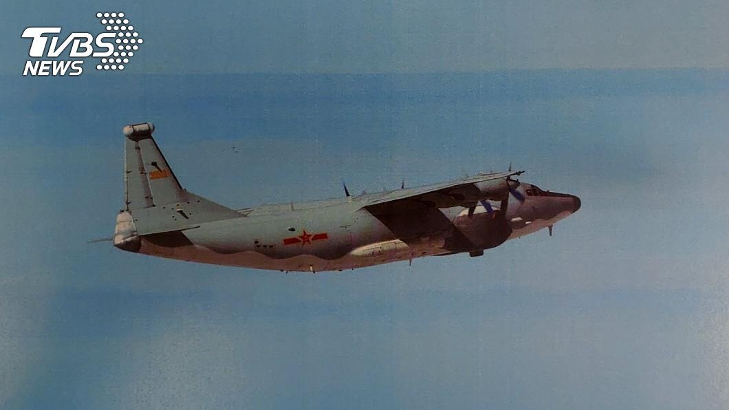 中共解放軍反潛機。(示意圖/TVBS) 共軍運8反潛、技術偵察機擾台 空軍防空飛彈追監