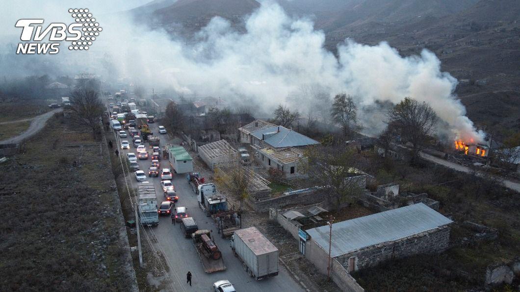 (圖/達志影像美聯社) 人道考量 亞塞拜然延長亞美尼亞撤離爭議區期限