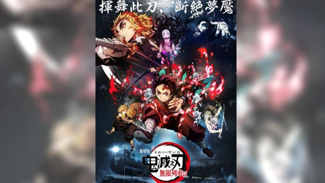 《鬼滅之刃》劇場版成在台最賣座日本電影。(圖/翻攝自鬼滅之刃劇場版無限列車篇官方網站) 17天破3項台灣影史紀錄!《鬼滅》成最賣座日本電影