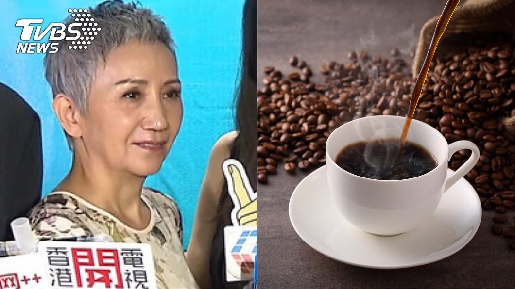 陸弈靜透露曾經嗜咖啡如命、每日只喝咖啡不喝水,一度陷入血癌風險。(圖/翻攝自陸弈靜臉書、shutterstock達志影像) 只喝咖啡不喝水驚罹血癌?影后「被醫師宣告」當下崩潰