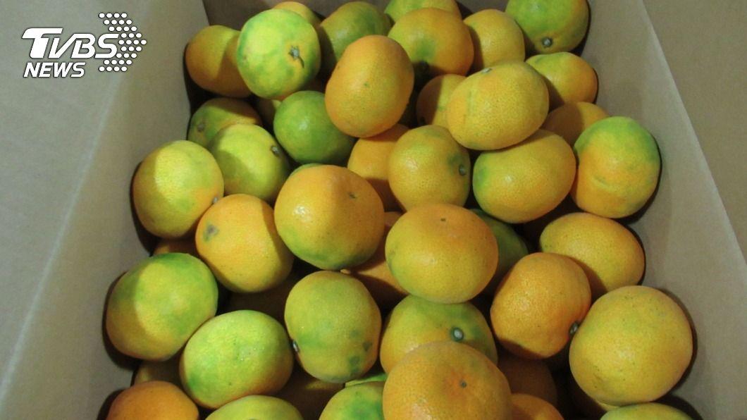(圖/中央社) 柑橘外皮恐有農藥殘留 醫籲先洗乾淨再吃
