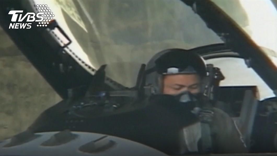 飛官蔣正志。(圖/TVBS) F-16飛官蔣正志夜航遭疑過勞 空軍:未違反規定