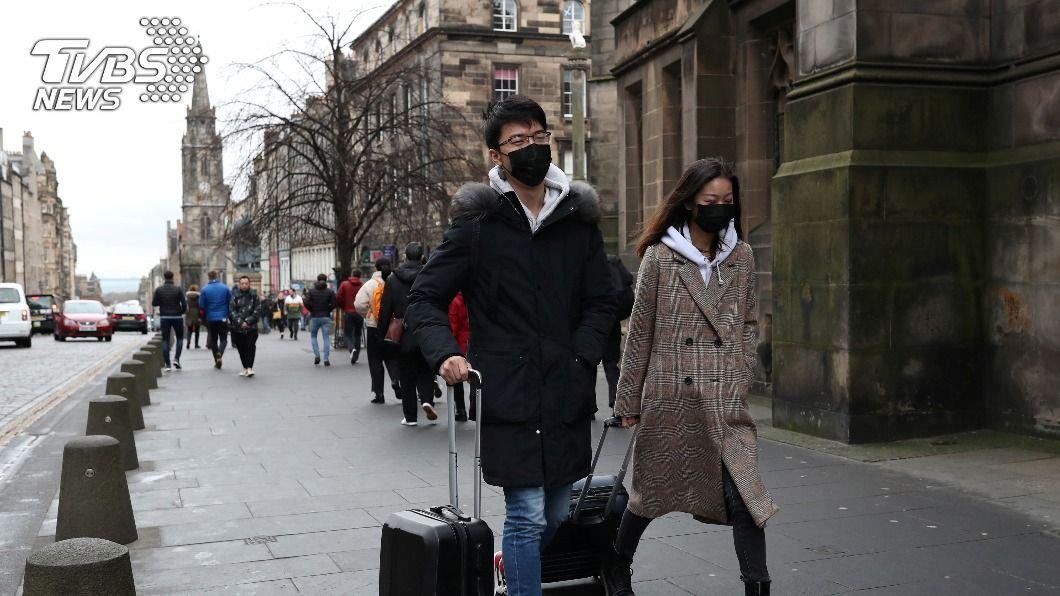 (圖/達志影像路透社) 蘇格蘭11區升至最高級疫情警報 非必要商店關閉3週