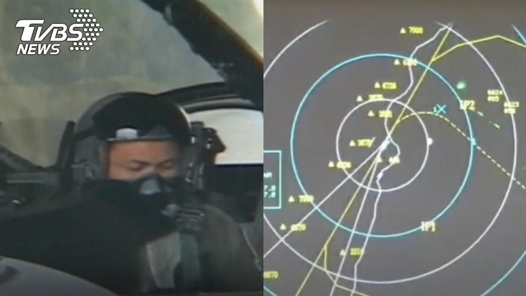 空軍飛官蔣正志昨晚駕駛F-16失聯。(圖/TVBS資料畫面) 飛官失聯遇「雲中錯覺迷向」?氣象局證實:有對流雲系