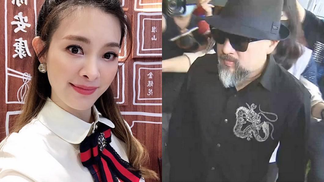 辛龍今年3月守靈穿著的黑色龍圖騰襯衫,就是劉真生前與Daniel Wong共同討論的作品。(圖/翻攝自劉真臉書) 辛龍守靈襯衫藏深情 劉真往生8個月「竟接到邀請函」