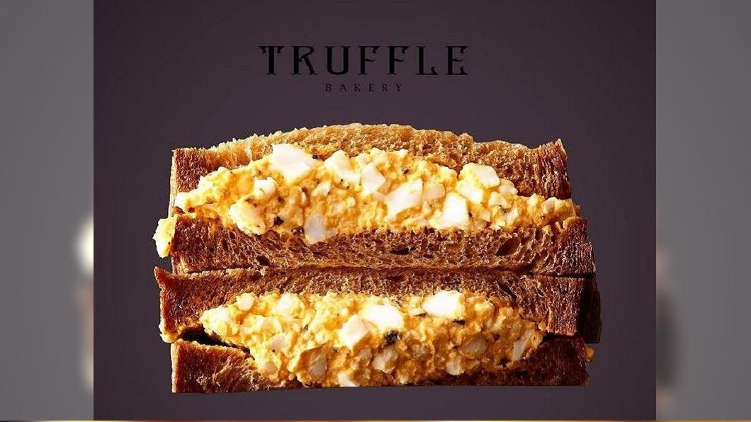 圖/翻攝自trufflebakery instagram 日本美食再進化 松露蛋三明治高貴又美味