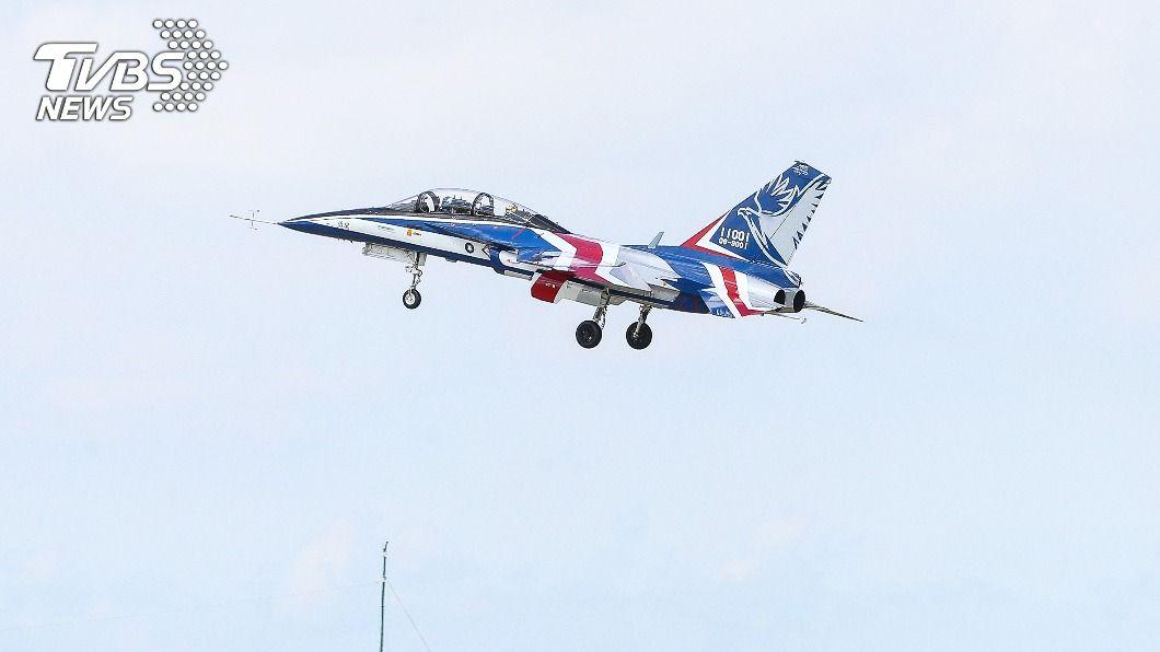 勇鷹高教機。(圖/中央社) 空軍:勇鷹每天兩試飛時段 明年再增1時段