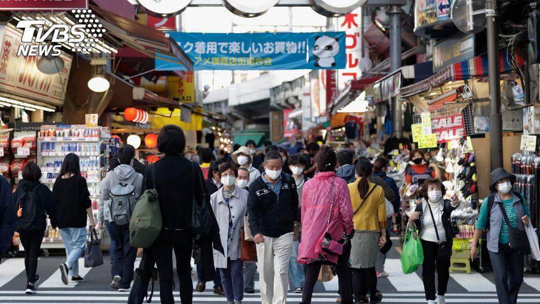 (圖/達志影像美聯社) 東京新增確診534例北海道258例 日本多處創新高