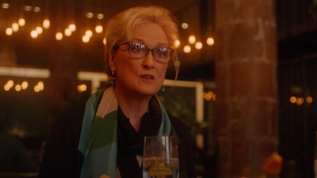 圖/翻攝自HBO Max Youtube 即興對話! 梅莉史翠普喜劇新作耶誕登串流