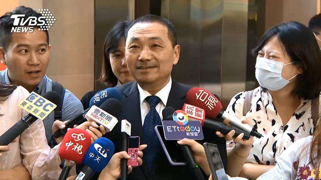 侯友宜上任兩年,近8成民眾滿意施政表現。(圖/TVBS資料畫面) TVBS民調/侯友宜施政近8成滿意 綠營支持者也認同