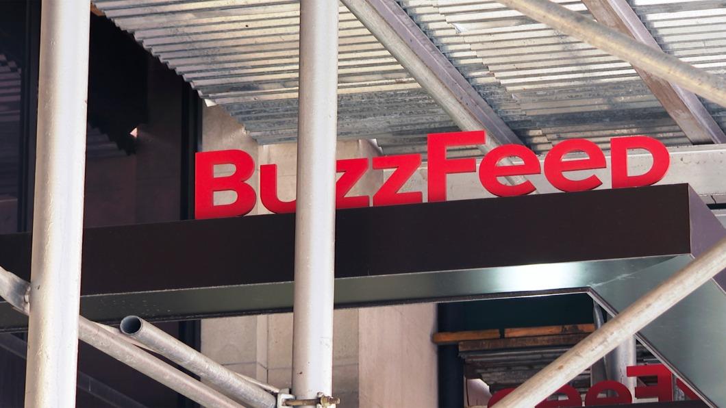 圖/達志影像美聯社 BuzzFeed收購HuffPost 網媒兩強合作求生