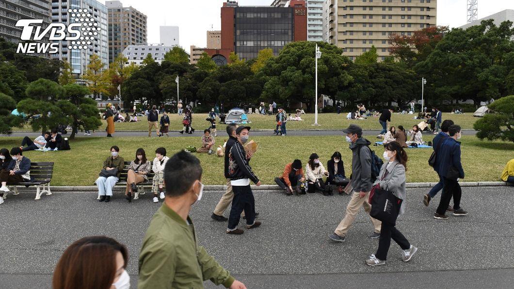 (圖/達志影像美聯社) 東京連2天逾500例 北海道首逾300例創單日新高