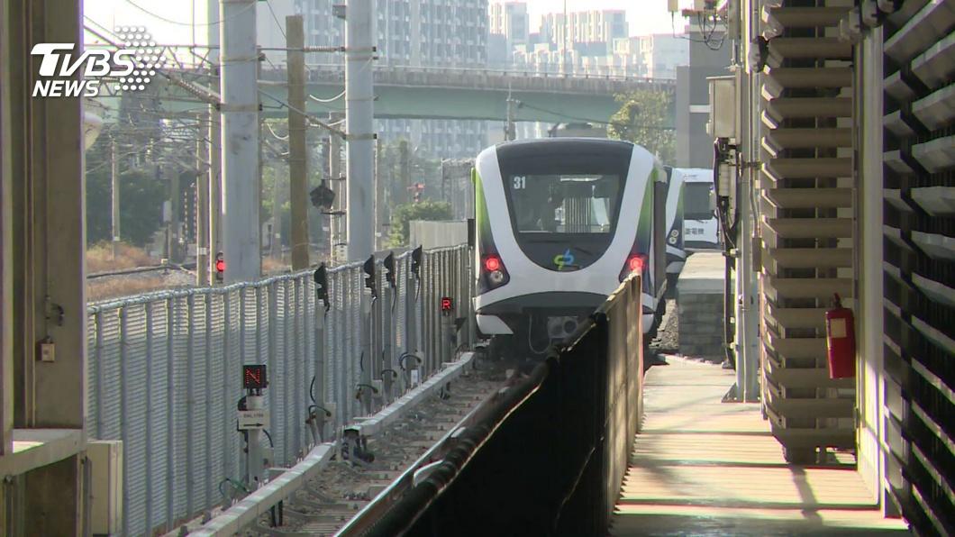 圖/TVBS 快訊/中捷試營運6天喊停 車廂零件故障重檢測