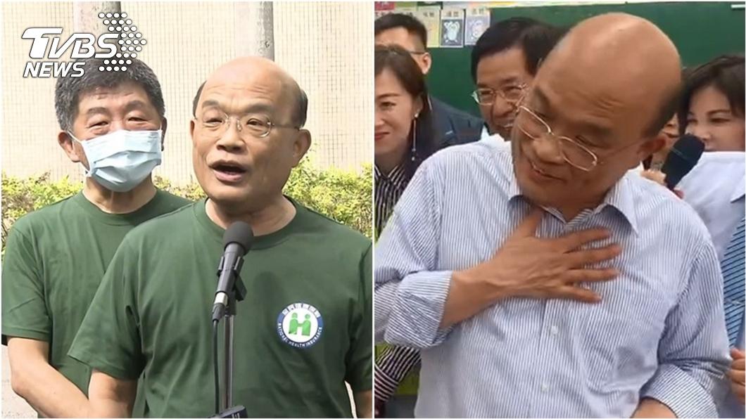 行政院長蘇貞昌。(圖/TVBS資料畫面) 蘇揆為何被爆下台陷困境? 他曝綠營內幕:得罪一海票人