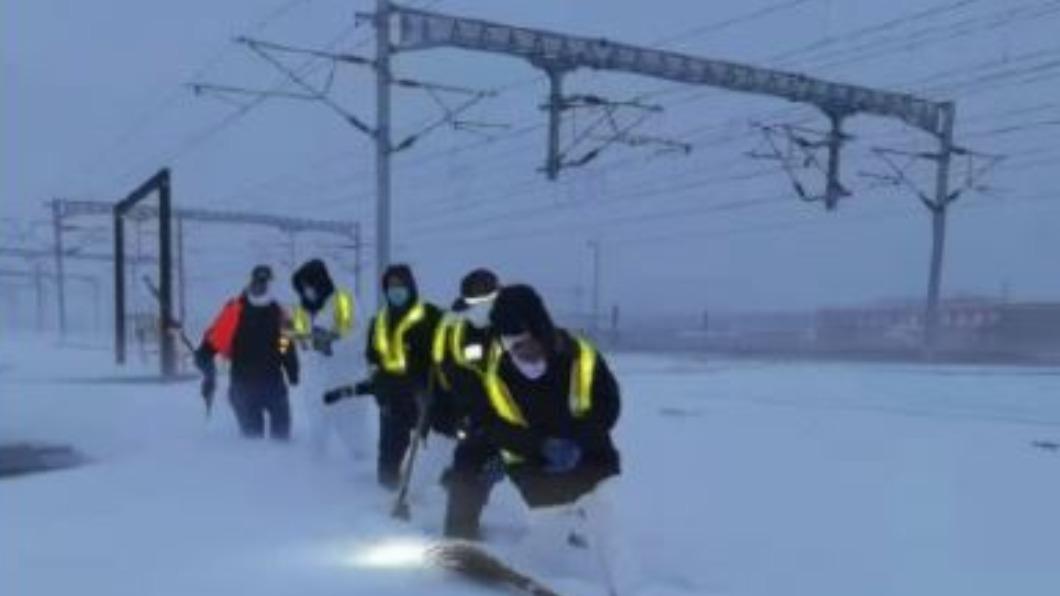 暴雪襲擊多地 陸18省會氣溫創新低