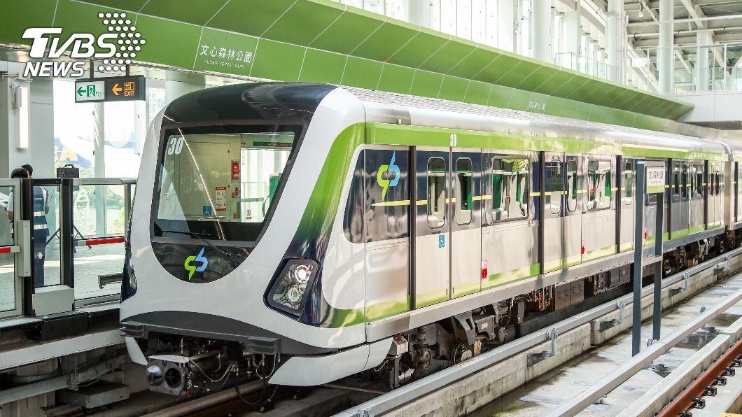 台中捷運綠線。(圖/中央社) 中捷最快30日恢復試營運 盧秀燕:安全才通車