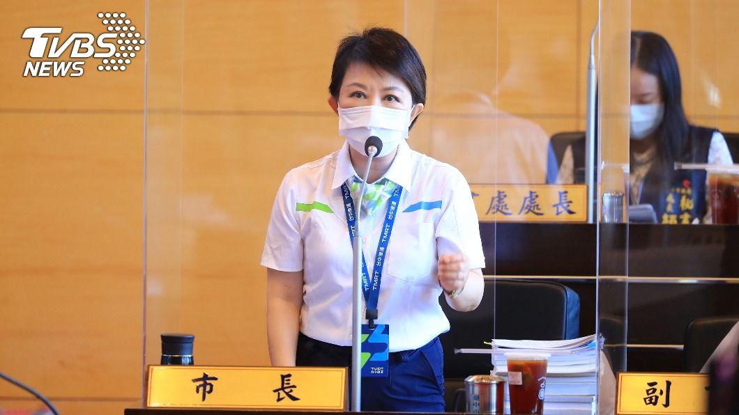 圖/中央社 中捷暫停試營運 盧秀燕:已聯絡北捷到中市說明