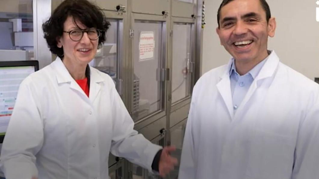 德國生技界夢幻組合 新冠疫苗幕後推手