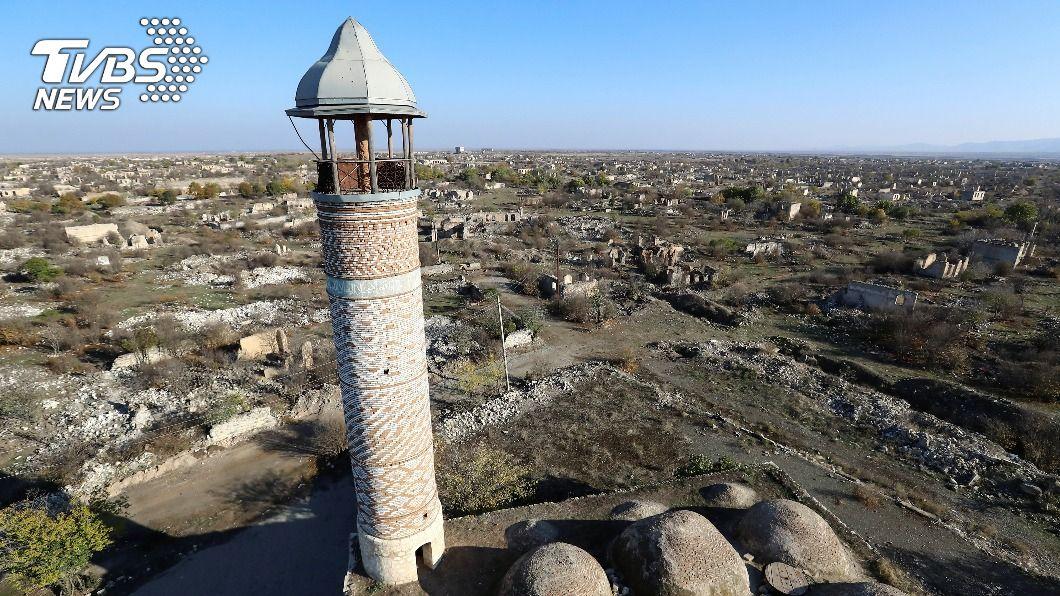 (圖/達志影像路透社) 亞美尼亞還地換和平 亞塞拜然軍隊陸續接收