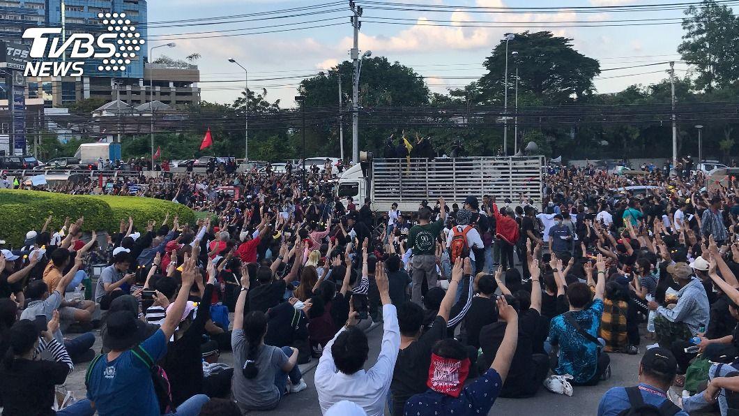 泰國反政府示威升溫 要求王室財產管理透明化