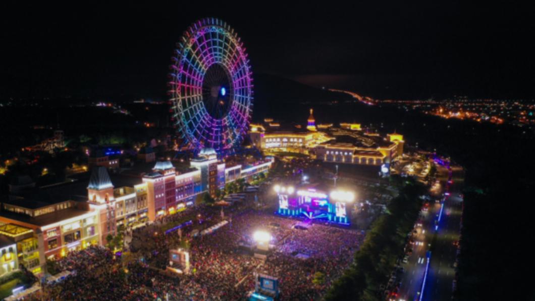 「台中麗寶跨年雙演唱會」為期兩天。(圖/翻攝自麗寶樂園渡假區) 「麗寶跨年雙演唱會」嗨翻台中 熱鬧倒數迎接2021
